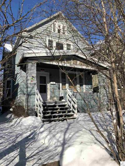 Duluth Single Family Home For Sale: 2905 W 3rd St