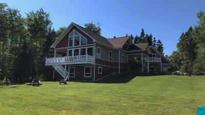 Two Harbors Single Family Home For Sale: 878 Old North Shore Rd