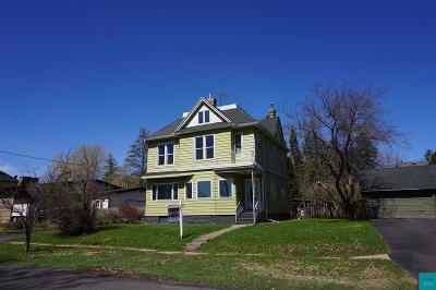 Superior Single Family Home For Sale: 809 4th Ave E