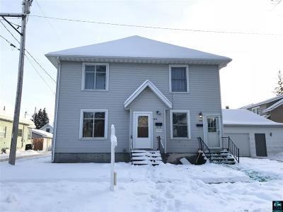 Superior Multi Family Home For Sale: 1314-1316 Lincoln St