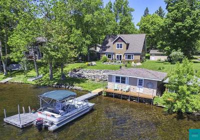 Duluth Single Family Home For Sale: 5942 N Pike Lake Rd