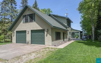 Superior Single Family Home For Sale: 8222 S Dowling Lk Rd W