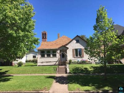 Two Harbors Single Family Home For Sale: 307 2nd Ave