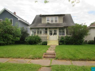 Superior Single Family Home For Sale: 910 N 20th St
