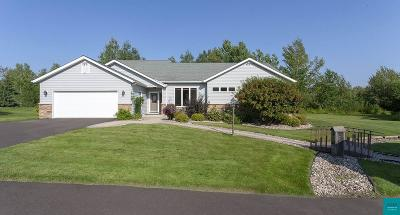 Hermantown Single Family Home For Sale: 4354 Ugstad Rd