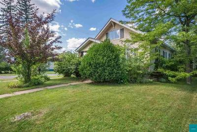 Superior Single Family Home For Sale: 823 Lincoln St