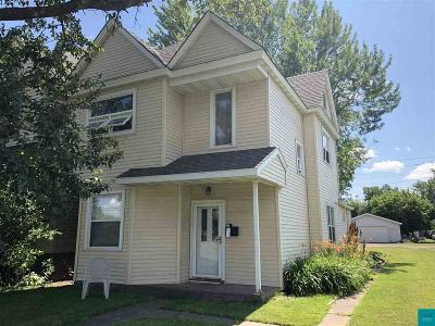 Superior Multi Family Home For Sale: 1210 Winter St