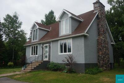 Two Harbors Single Family Home For Sale: 795 Scenic Dr