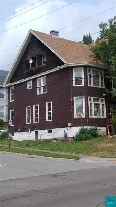 Duluth Multi Family Home For Sale: 1901 E Superior St