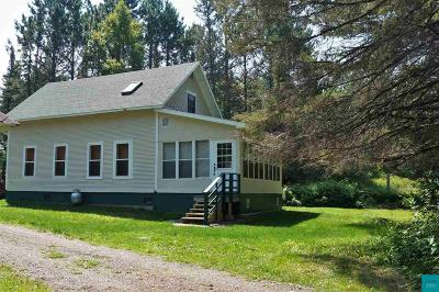 Brimson MN Single Family Home For Sale: $389,900