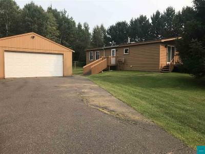 Hermantown Single Family Home For Sale: 4114 Lavaque Rd