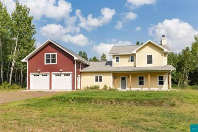 Duluth Single Family Home For Sale: 5334 Fish Lake Dam Rd