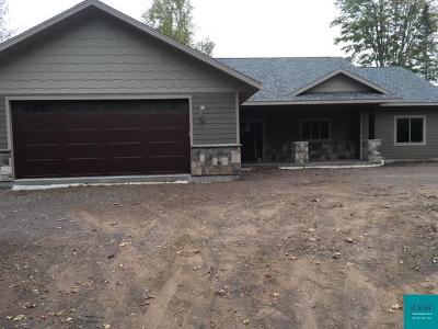 Duluth Single Family Home For Sale: 5262 Usiak Rd