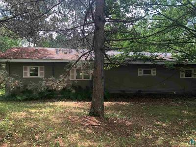 Single Family Home For Sale: 3554 Bent Trout Lake Rd
