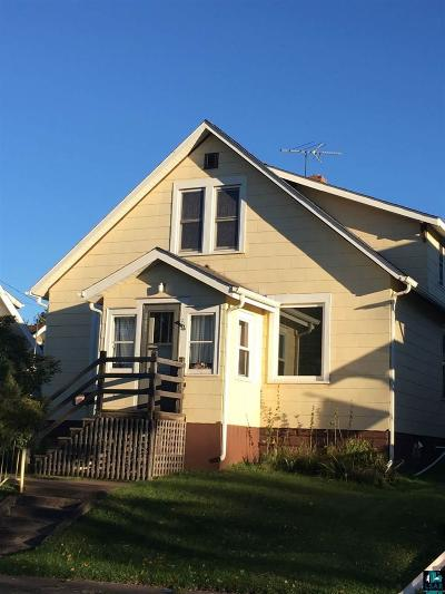 Two Harbors Single Family Home For Sale: 207 South Ave