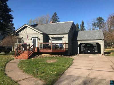 Duluth Single Family Home For Sale: 2637 Hagberg St