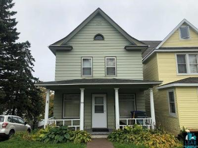 Duluth Single Family Home For Sale: 1914 Greysolon Rd