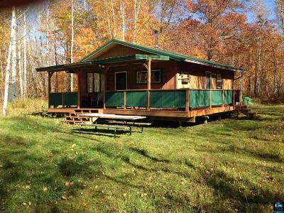 Single Family Home For Sale: 3095 Kalevala Rd