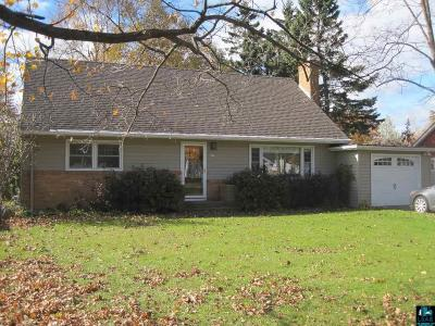 Duluth Single Family Home For Sale: 901 Anderson Rd