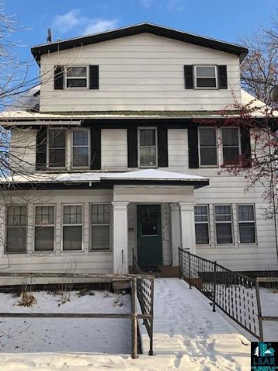 Duluth Multi Family Home Inspection Cont (Mn): 2024 W 4th St