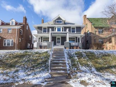 Duluth Single Family Home For Sale: 2127 E 2nd St