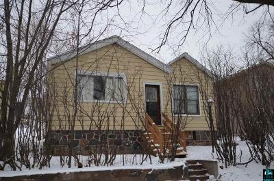 Duluth Single Family Home For Sale: 825 W 4th St