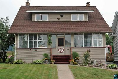 Duluth Single Family Home For Sale: 5115 Dodge St