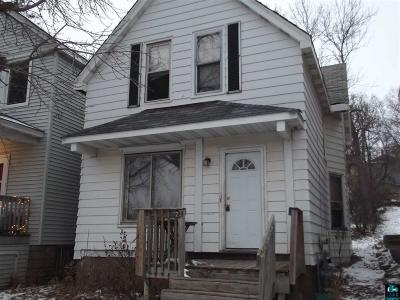 Duluth Single Family Home For Sale: 923 E 7th St