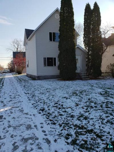 Superior Single Family Home For Sale: 1202 Grand Ave