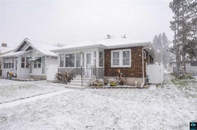 Duluth Single Family Home For Sale: 4407 W 6th St