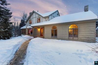 Duluth Single Family Home For Sale: 4912 Lester River Rd