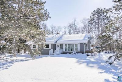 Duluth Single Family Home For Sale: 5716 N Pike Lake Rd