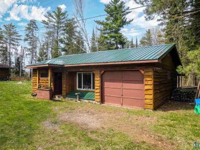 Single Family Home For Sale: 10469 Kitigan Lake Rd