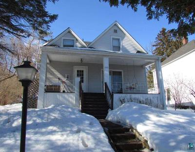 Duluth Single Family Home For Sale: 1325 W 2nd St