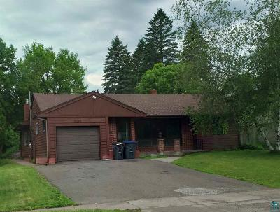 Duluth Single Family Home For Sale: 2225 Woodland Ave
