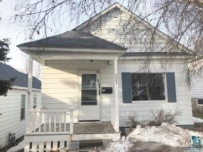 Duluth Single Family Home For Sale: 521 N 12 1/2 Ave E