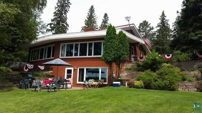 Duluth Single Family Home For Sale: 5830 N Pike Lake Rd