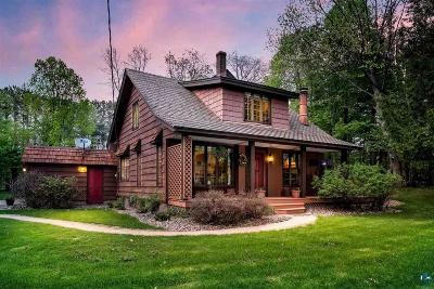 Duluth Single Family Home For Sale: 5965 N Pike Lake Rd