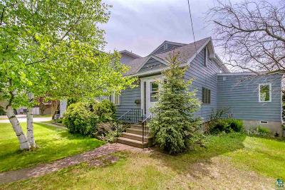 Duluth Single Family Home For Sale: 2835 Minnesota Ave