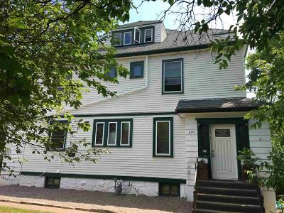 Duluth Multi Family Home For Sale: 2110 E Superior St