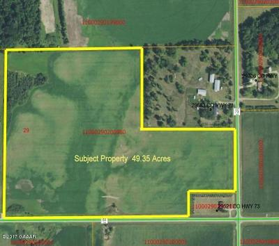 Residential Lots & Land Sold: 45.95 Acre County Highway 50
