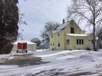 Sauk Centre MN Single Family Home For Sale: $139,900