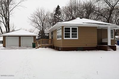 Sauk Centre MN Single Family Home For Sale: $110,000