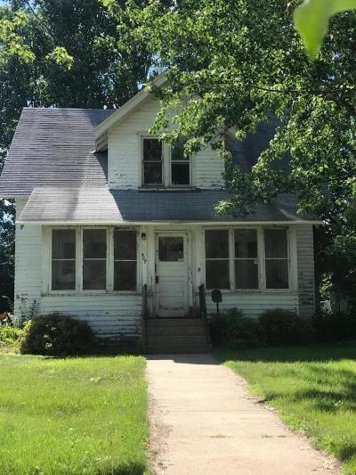 Long Prairie Single Family Home For Sale: 407 Lake Street S