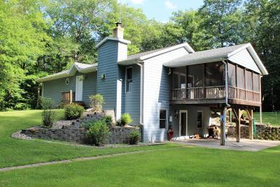 Alexandria Single Family Home For Sale: 12720 Miltona Bay Road NE