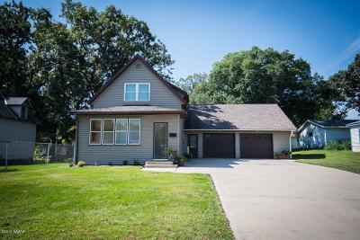 Sauk Centre MN Single Family Home For Sale: $149,900