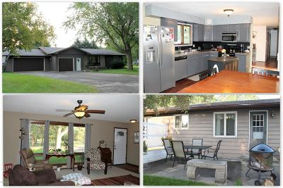 Parkers Prairie MN Single Family Home Sold: $144,900