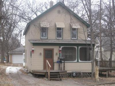 Otter Tail County Single Family Home For Sale: 308 N Mill Street