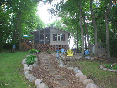 Otter Tail County Single Family Home For Sale: 32108 Stalker Lake Trail