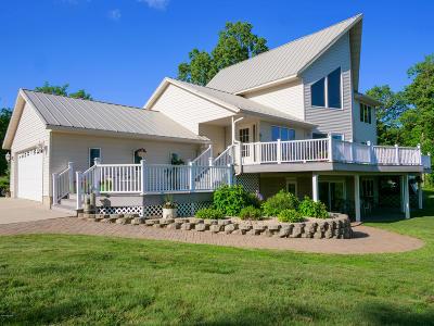 Miltona Single Family Home For Sale: 980 E Sandy Beach Drive NE